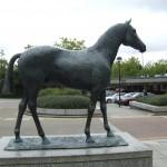 Black Horse: Elisabeth Frink, 1978